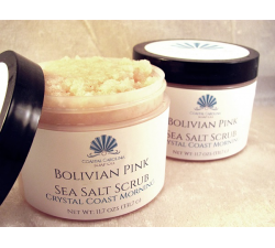 Bolivian Pink Sea Salt Scrub - Kure Beach